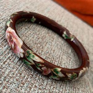 Jewelry - Vintage cloisonné bangle